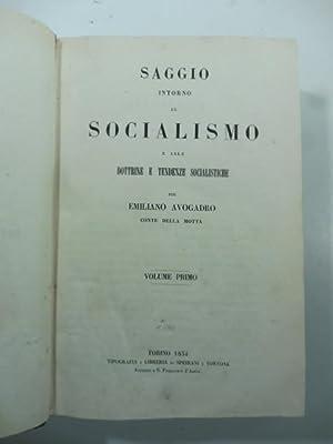Saggio intorno al socialismo e alle dottrine: Emilano Avogadro