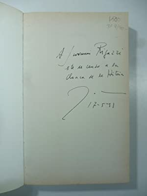 Galindez. Novela. Copia con dedica dell'Autore (signed copy)