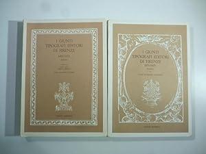 I Giunti tipografi editori di Firenze 1497-1570: Luigi Silvestro Camerini