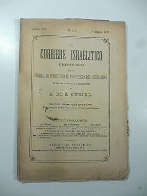 Il corriere israelitico. Periodico per la storia,: AA.VV.