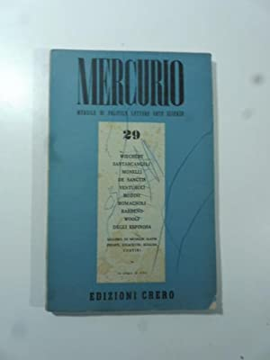 Mercurio. Mensile di politica, lettere, arte, scienze.: AA.VV.