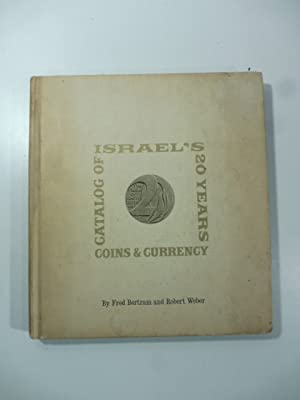 Israel's 20 year catalog of coins and currency including Palestine Mandate and State Medals