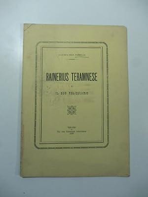 Rainerius teramnese e il suo reliquiario: Giacinto Pannella