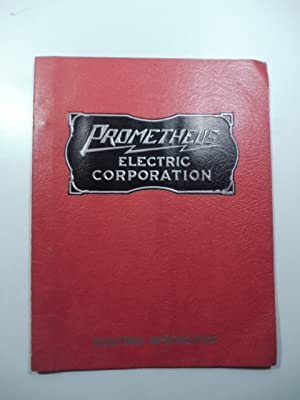 Prometheus. Electric corporation. Manufacturers of hospital surgical and dental equipment