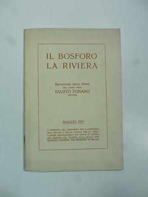 Il Bosforo, la Riviera. Esposizione delle opere: Anonimo