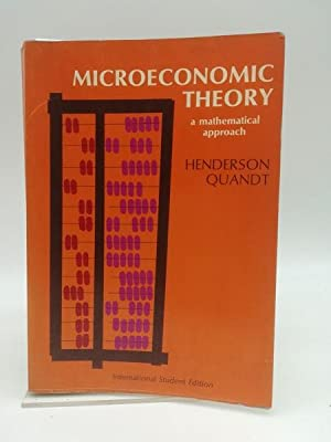 Microeconomic Theory. A matematical approach