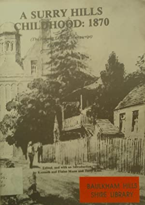 A Surry Hills Childhood:1870.: Moon, Kenneth and