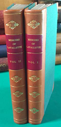 Memoirs Of Count Lavallette : Vol.1 & 2.