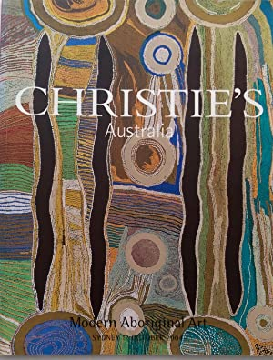 Christie's Australia: Modern Aboriginal Art, Sydney 12 October 2004.