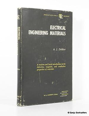 Electrical Engineering Materials: Dekker, Adrianus J.
