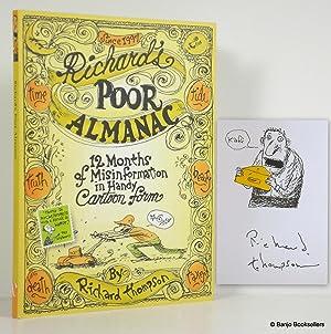 Richard's Poor Almanac: Twelve Months of Misinformation: Thompson, Richard