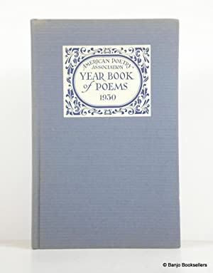 Year Book of Poems 1930: American Poetry Association