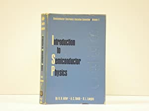 Introduction to Semiconductor Physics: Adler, R. B.;