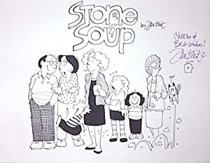 Signed Stone Soup Comic strip Poster: Eliot, Jan [signed]