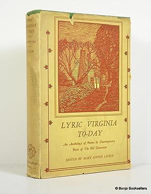 Lyric Virginia To-Day: Leitch, Mary Sinton