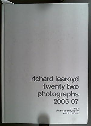 Richard Learoyd Twenty Two Photographs 2005-07: Bucklow, Christopher &