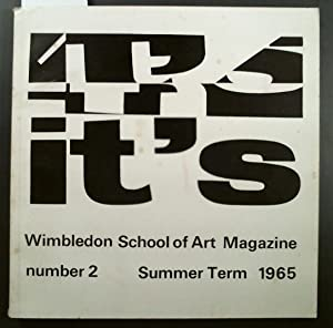 it's Wimbledon School of Art Magazine number 2 Summer Term