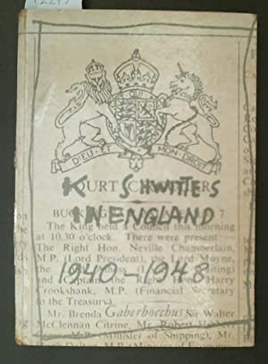 Kurt Schwitters in England: Themerson, Stefan