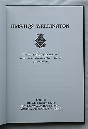 HMS/HQS Wellington: Captain A. D. Munro