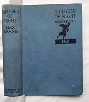 Children of Night: Max Brand