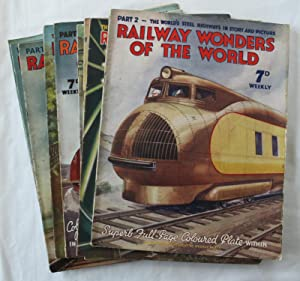 Railway Wonders of the World : Complete set but missing part 1 (49 copies)