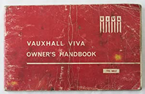 Vauxhall Viva Owner's Handbook : Operation and Maintenance Instructions