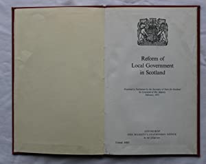 Reform of Local Government in Scotland