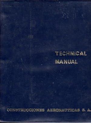 Maintenance Manual Construcciones Aeronauticas (CASA) C-212 Aviocar (Version CB8) (2 Volumes): ...