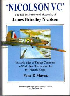 Nicolson VC' (the full and authorised biography: Mason, Peter D./Cheshire,