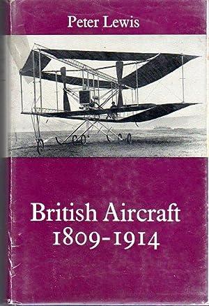 British Aircraft 1809-1914 (Putnam Aviation Series): Lewis, Peter