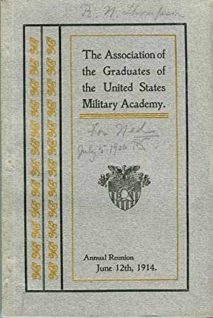 Forty Fifth Annual Reunion of the Association of the Graduates of the United States Military ...