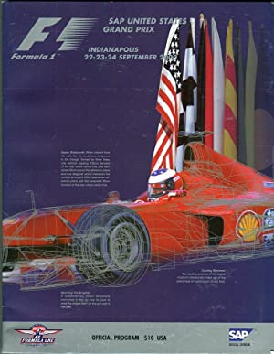 SAP United States Grand Prix Official Program,: Dyer, Dawn (ed)