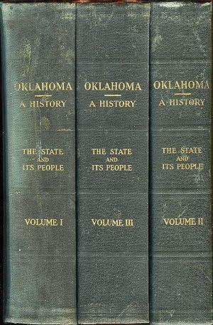 Oklahoma: A History of the State and Its People (Volumes 1, 2, 3 (I, II, III)): Thoburn, Joseph B./...