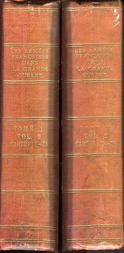 Les Armees Francaise dans la Grande Guerre (Tome I, Volume 2, Cartes 1-78): La Guerre de Mouvement ...