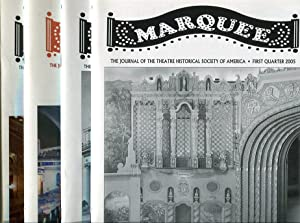 Marquee: The Journal of the Theatre Historical Society of America, Volume 37, Nos. 1, 2, 3, 4, 2005...