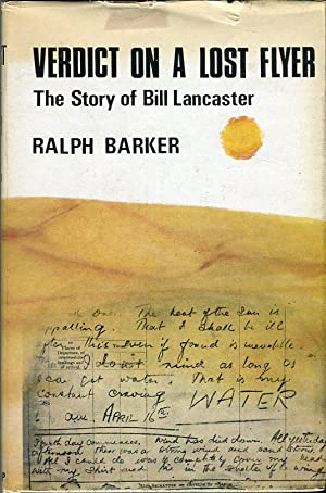Verdict on a Lost Flyer: The Story of Bill Lancaster: Barker, Ralph