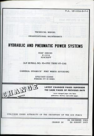 Technical Manual Organizational Maintenance Hydraulic and Pneumatic: General Dynamics' Fort