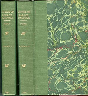 Letters of Horace Walpole (Volumes 1 & 2)