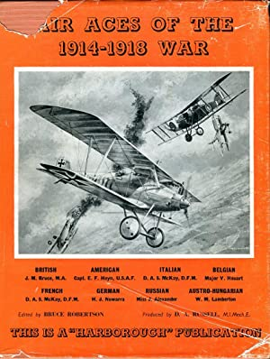 Air Aces of the 1914-1918 War (A: Robertson, Bruce (ed)