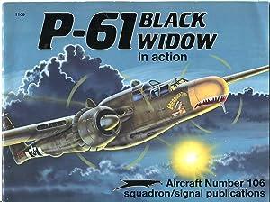 P-61 Black Widow in Action (Aircraft No.: Davis, Larry (text)/Menard,