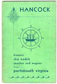 Historic Ship Models, Coaches and Wagons: Hancock, Roy