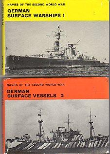 Navies of the Second World War: German Surface Warships (2 volumes): Lenton, H.T.