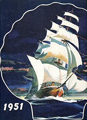 Lucky Bag Nineteen Fifty One (1951): The Yearbook of the Brigade of Midshipmen, United States Naval...