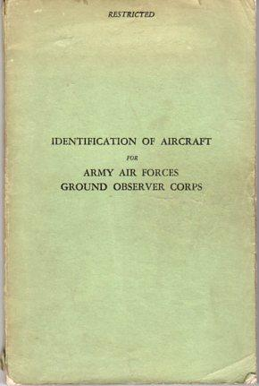 Identification of Aircraft for Army Air Forces: Headquarters, Army Air