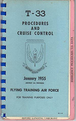 T- 33 Procedures and Cruise Control