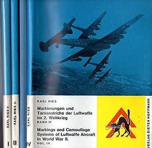 Markierungen und Tarnanstriche der Luftwaffe im 2.: Ries Jr., Karl/Galland,