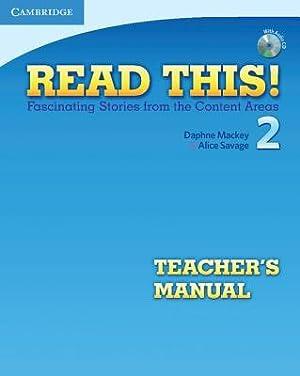 Read This! Level 2 Teacher's Manual: Fascinating: Mackey, Daphne