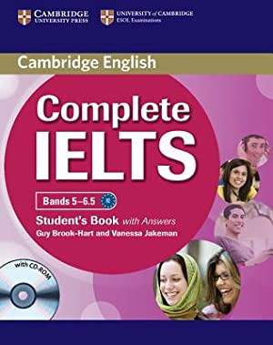 Complete IELTS Bands 5-6.5 Student's Book with: Brook-Hart, Guy