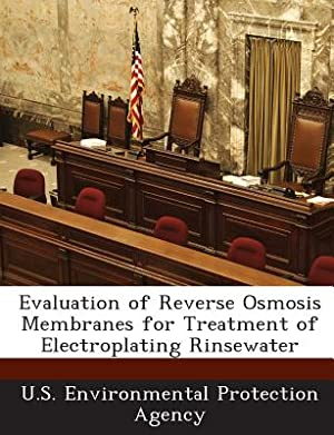 Evaluation of Reverse Osmosis Membranes for Treatment: U S Environmental