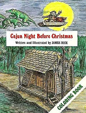 Cajun Night Before Christmas(r) Coloring Book (Paperback: Rice, James